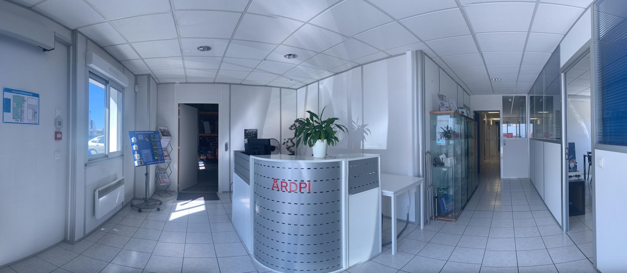 Panorama accueil bureaux ARDPI